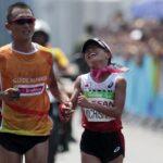 Japan's Misato Michishita is a silver medallist from Rio 2016 in the women's marathon T12 ⒸAlexandre Loureiro/Getty Images