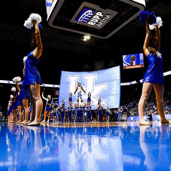 Kentucky fires entire cheerleading coaching staff