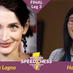 Katerina Lagno to clash with Hou Yifan